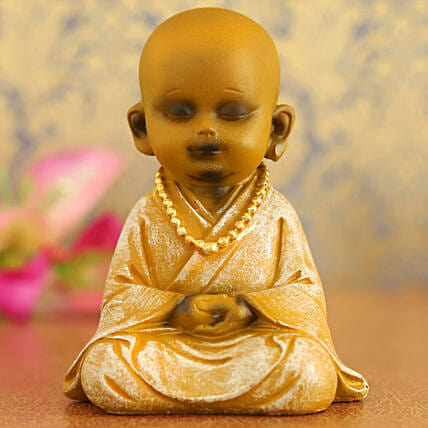 Serene Monk Idol:Diwali Gifts for Him