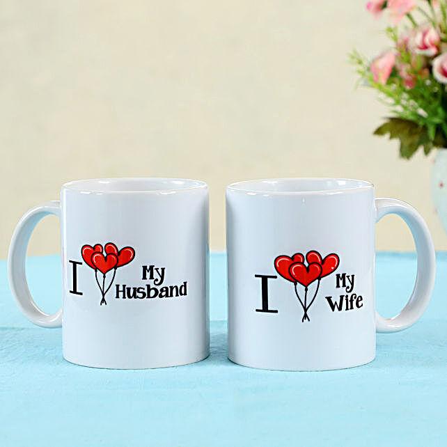 Love Mug Set For Husband and Wife