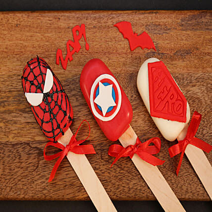 superhero cakesicles online