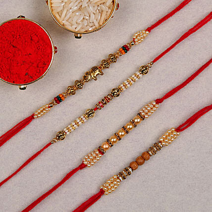 online 4 set of rakhi
