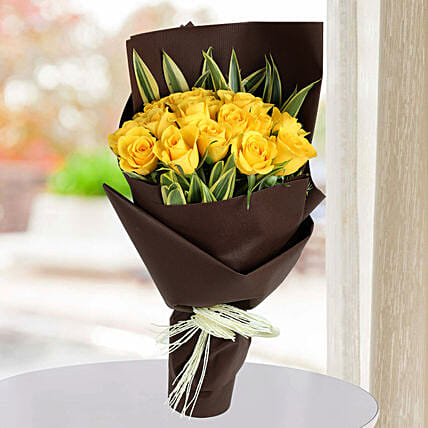 Yellow Rose bouquets