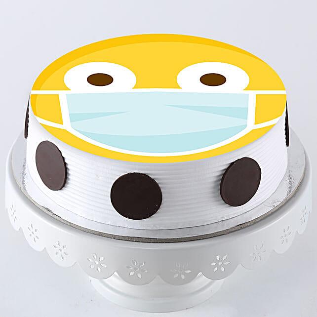 Quarantine Emoji Cake Online