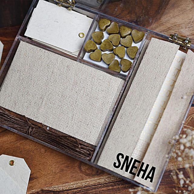 Sholka Personalised Gifting stationery kit