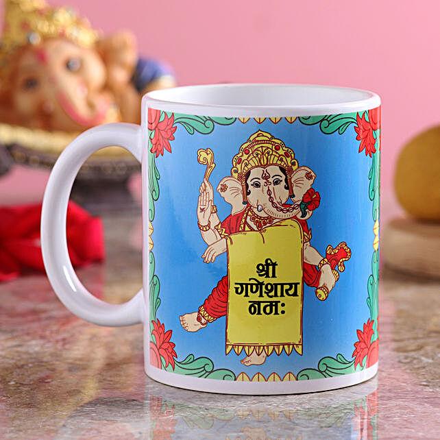Ganesha Mantra Printed Coffee Mug