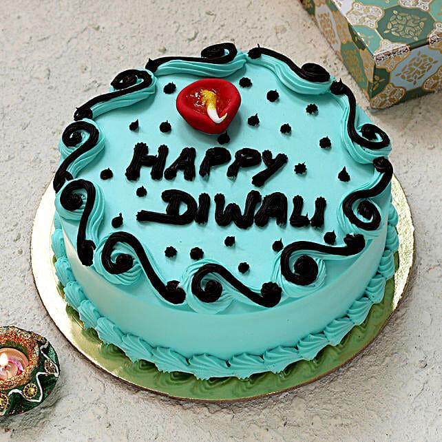 Happy Diwali Cake Online:Send Happy Diwali Cakes