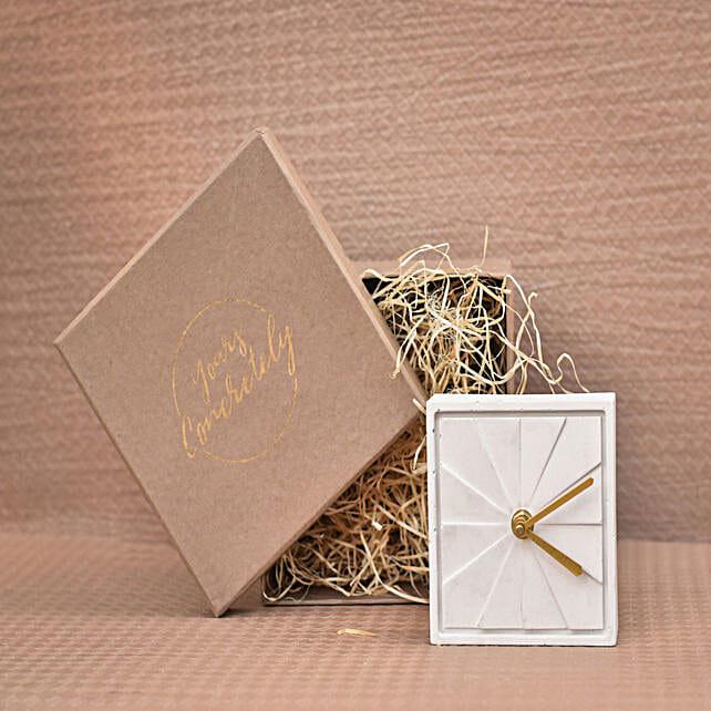 Simply Elegant Table Top Clock:Halloween Gifts