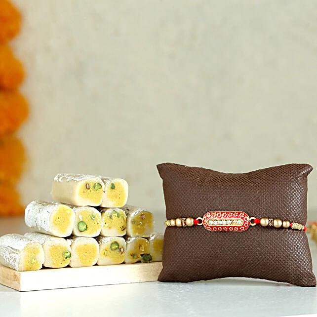 Single Capsule Rakhi & Kaju Roll