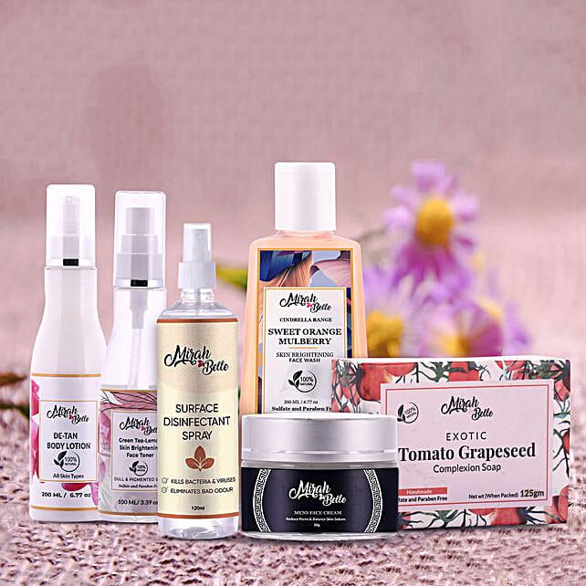 Organic Skin Care Hamper for Men