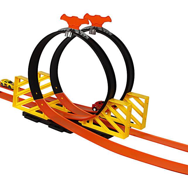 Racing track game