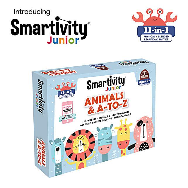 Smartivity Junior Animals And A To Z Pre School Kit