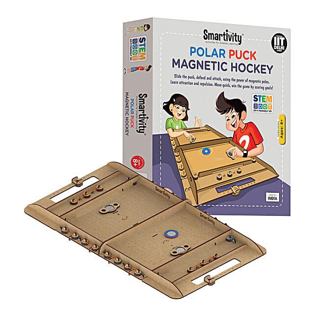Smartivity Polar Puck Magnetic Hockey Game Kit