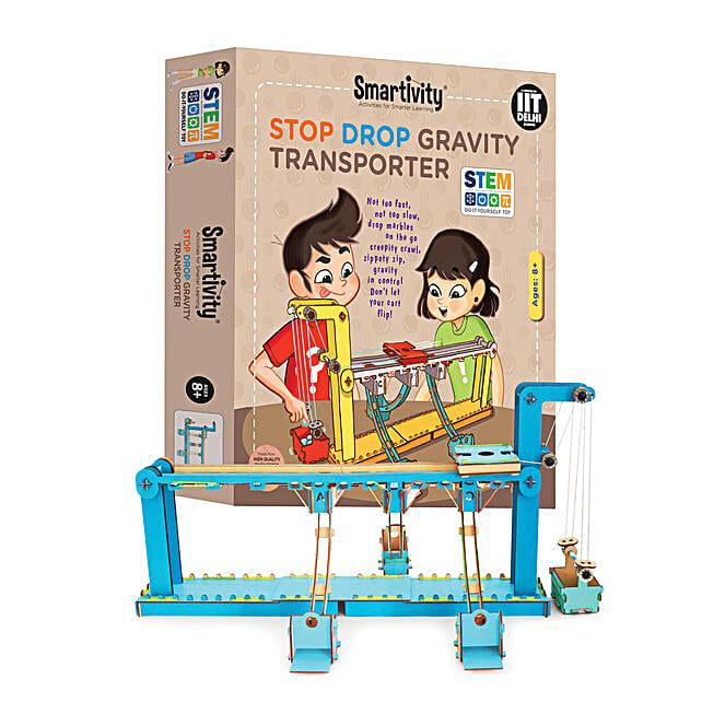 Smartivity Stop Drop Gravity Transporter Game Kit