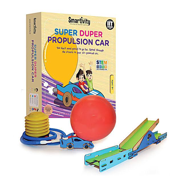 Smartivity Super Duper Propulsion Car Game Kit