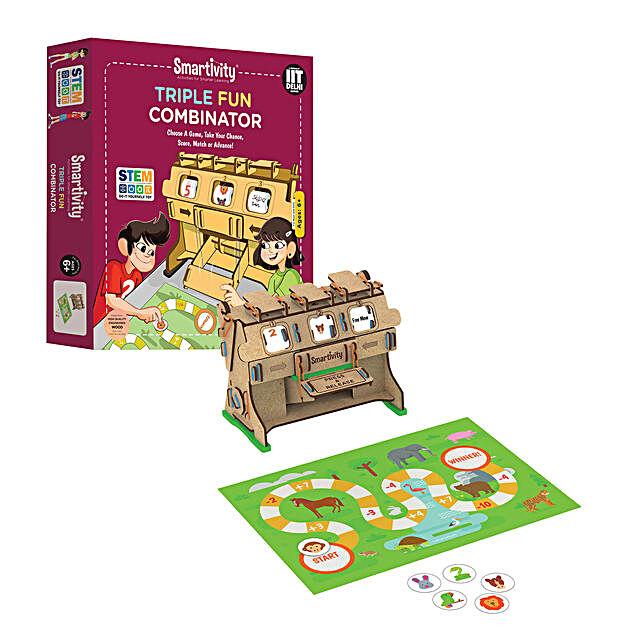 Smartivity Triple Fun Combinator Game Kit