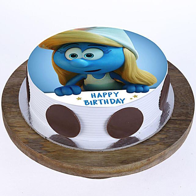 Cartoon Birthday Cake Online