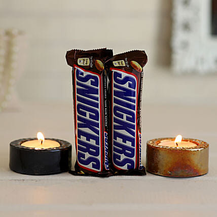 Chocolates & Candles Combo Online