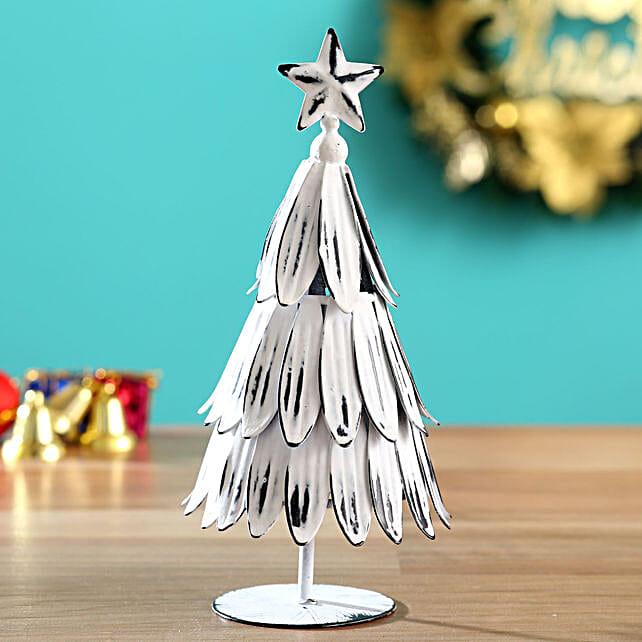 Snow White Christmas Tree