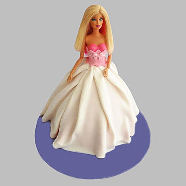 Snow-White Barbie Cake 2kg