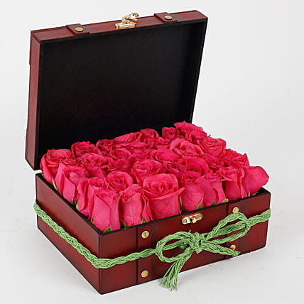 Love of Pink Rose Arrangment:Premium Gifts for Anniversary