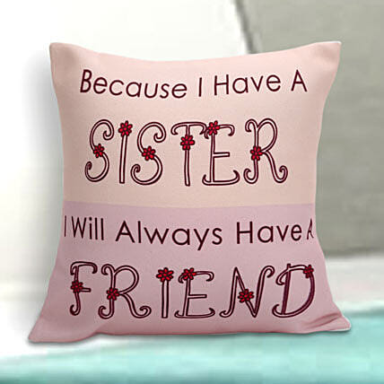 Sister special cushion