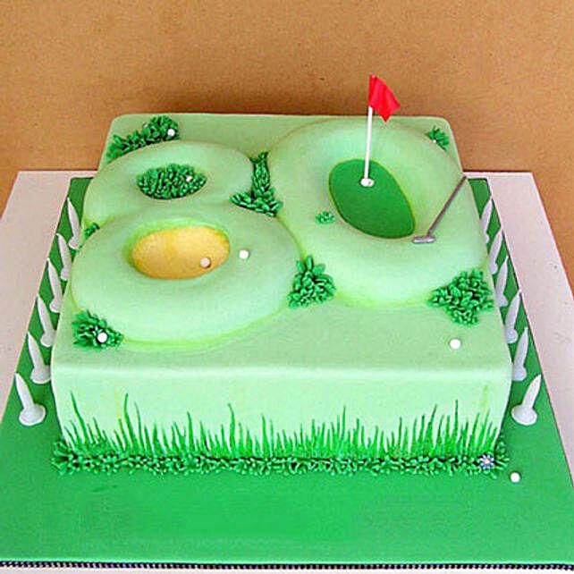 Special Celebration Fondant Cake 4kg Vanilla