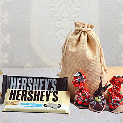 Chocolate and Candy Pouch Online