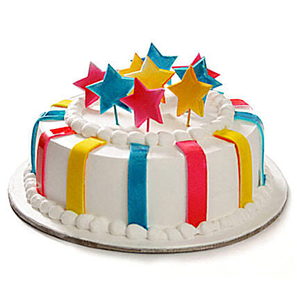 Special Delicious Celebration Cake 1kg Vanilla