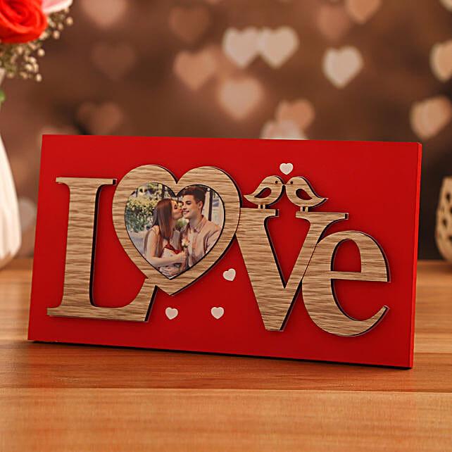online love frame personalised