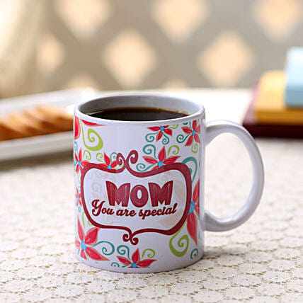 Special Mom Mug-1 mom you are special white ceramic mug