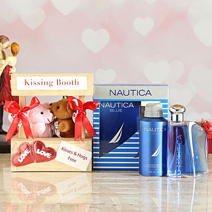 Online Special Nautica Blue Love Gift