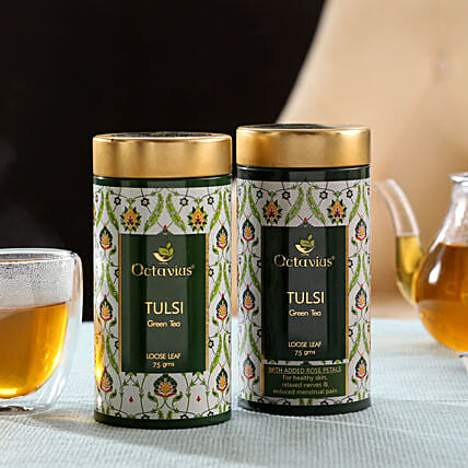 Tulsi Tea Leaf Box Combo Online