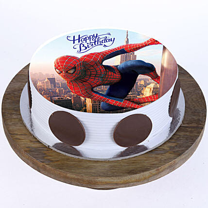 Spiderman Birthday Cake for Kids:Superhero Birthday Cakes