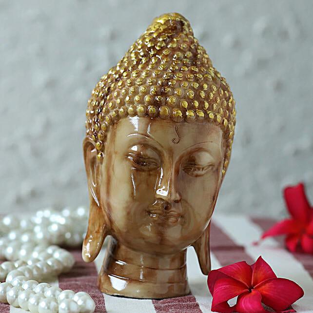marble finish buddha idol online:Buddha Gifts