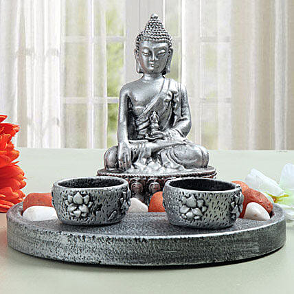 Meditating Buddha showpiece