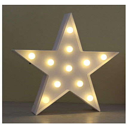 Star Marquee Light Lamp