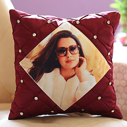 Beautiful Picture Cushion for Her