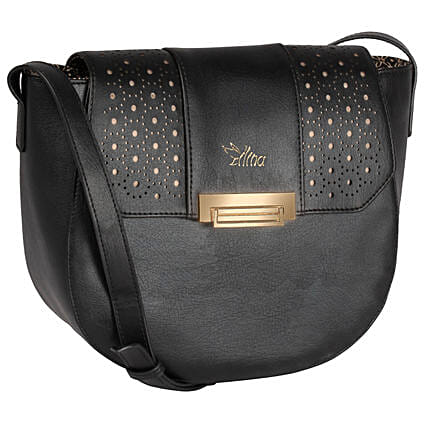 Modish Black Sling Bag