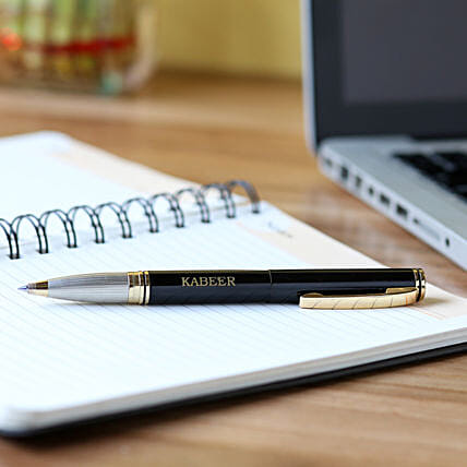 Stylish Personalised Roller Pen:Personalised Pens