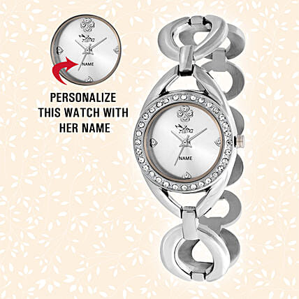 Stylish Personalised Watch For Her