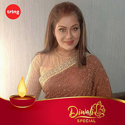 Sudha Chandran- Diwali Personalised Video Message