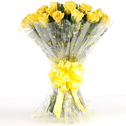 Bunch of Yellow Roses Online