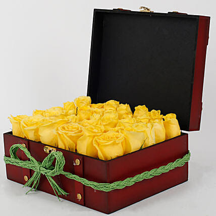 Yellow Roses Celebration:Premium Gifts for Anniversary
