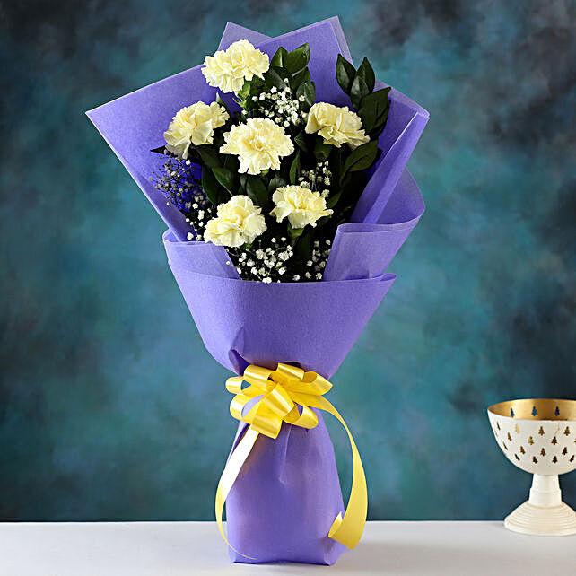 Send Love Yellow Carnations