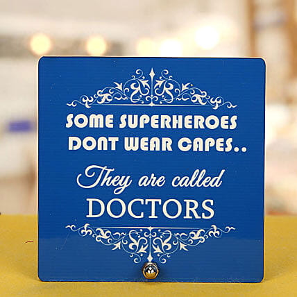 Super Heroes-Doctor Table Top:Gifts for Doctor