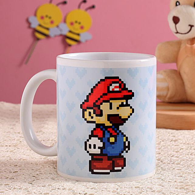 super mario printed mug