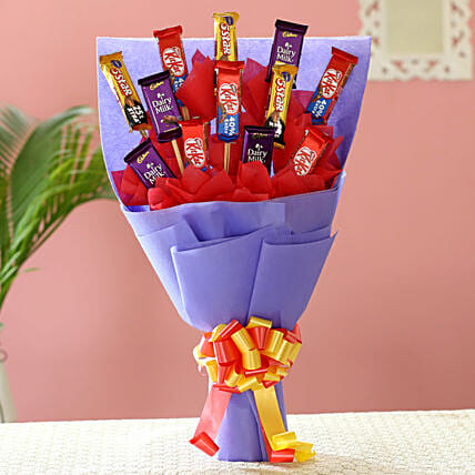 Trooper Chocolate Bouquet:Baisakhi Gifts