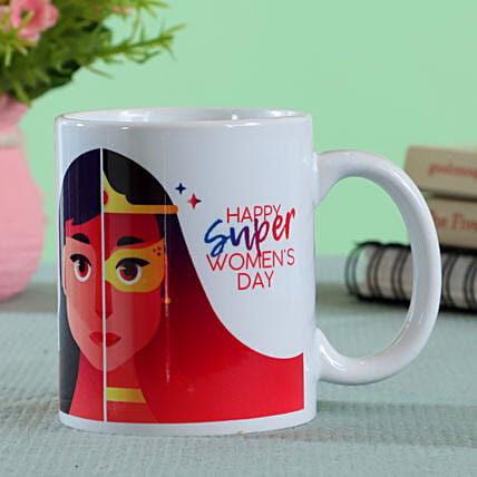 customised womens day mug online
