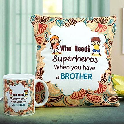 Superhero Combo Rakhi Gifts for Brother