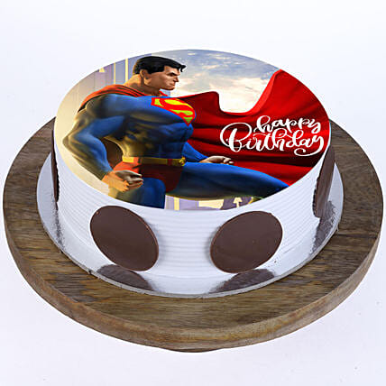 Superman Cake For Kids Online:Superhero Cakes