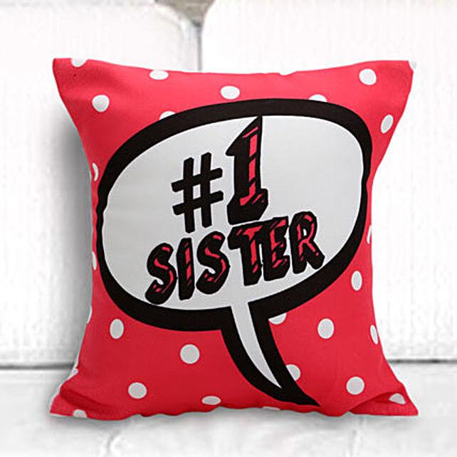 No 1 sister cushion
